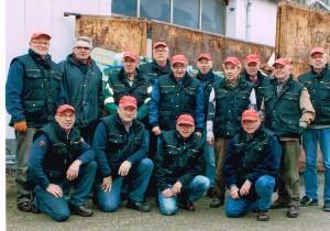 Vrijwilligers Excelsior Oud-papier