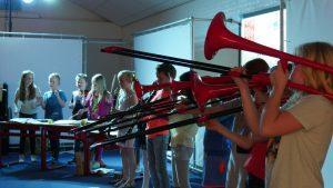 Muziek jeugd Excelsior groep 4 en 4