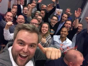 Slagwerkgroep Excelsior Winterswijk goed resultaat concours 2018